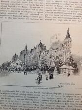 74-1 Ephemera 1900s Picture National Liberal Club London