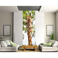 Papier Peint Lé Unique Girafe 1100
