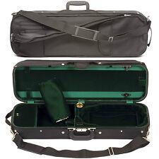 Bobelock 1002SV Oblong 3/4 Violin Case: Green Velvet Interior- AUTHORIZED DEALER