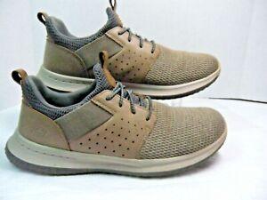 Skechers-Mens-Delson-CAMBEN-Classic-Fit-Tenis-65474-tamanho-9-5-14H-Memory-Foam