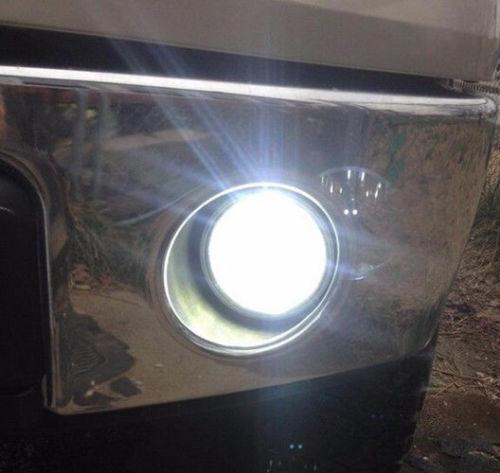 2x Super White H11 H9 H8 LED Fog Light Bulbs 6000K High Power Bright