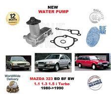 PARA MAZDA 323 MK II MK III BD BF BW 1.1 1.3 1.5 I TURBO 1980-1990 BOMBA DE AGUA