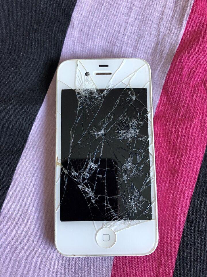 iPhone 4, 16 GB, hvid