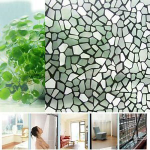 Bathroom Window Uk new 200x45cm bathroom office privacy decorative frosted diy glass