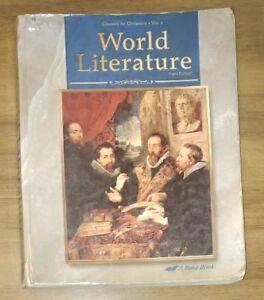 abeka world literature review