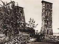 1925 Vintage CANADA ~ Fort Chambly Fort St. Louis Quebec Ruins River Photo Art