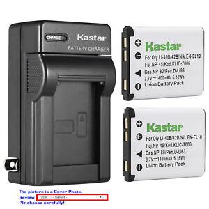 Kastar-Battery-Wall-Charger-for-Olympus-Li-40B-Li42B-amp-Olympus-VR-320-Camera