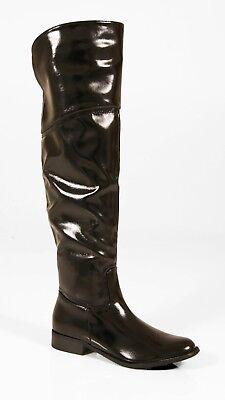 Knee Flat Heel Riding Boot Size