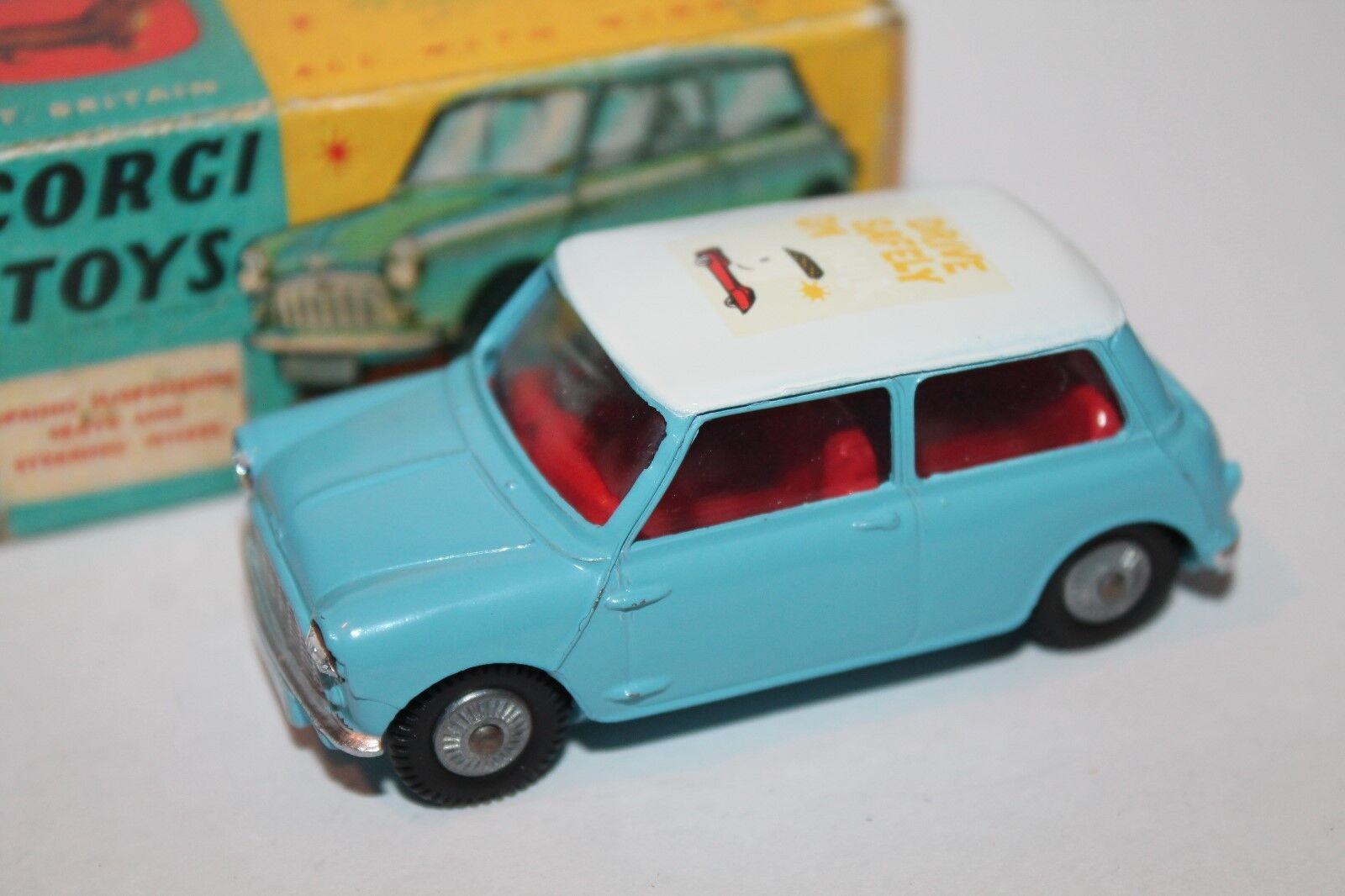 CORGI toys  Morris Mini Minor  Drive safely on Milk  1 43  code 3  pièce unique
