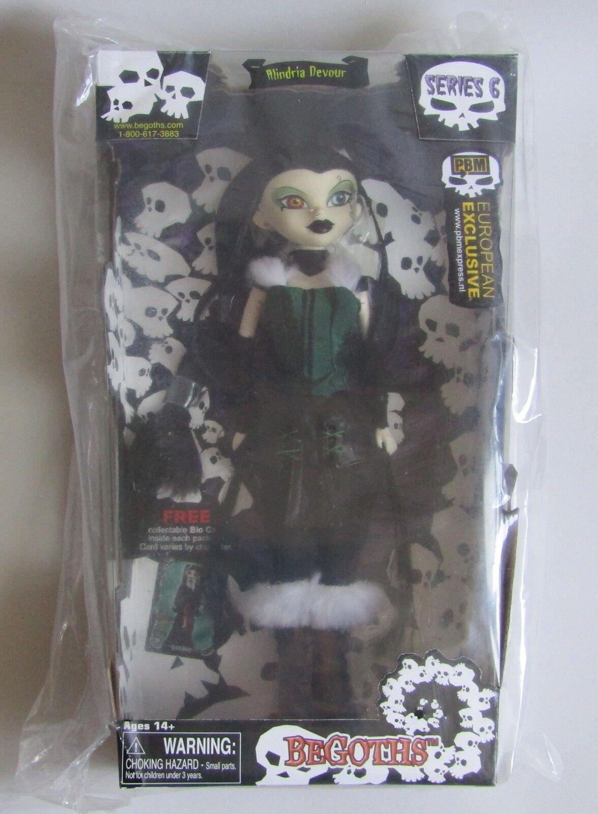 Begoths. bambola Alindria Devour  Series 6, NEUF, Scellé  benvenuto a scegliere
