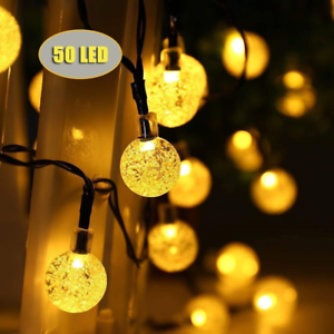 Solar-String-Lights-50-LED-Outdoor-String-Lights-Garden-Crystal-Ball-Decorative