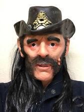 Lemmy Mask Latex Ace of Spades Kilmister Rocker Fancy Party Motorhead Masks