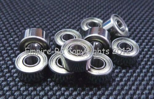 3x9x4mm Double Metal Shielded PRECISION Ball Bearing MR93ZZ 5 PCS 3*9*4