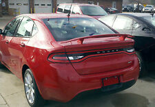 #526 PAINTED CUSTOM SPOILER fits the 2013 2014 2015 2016 DODGE DART