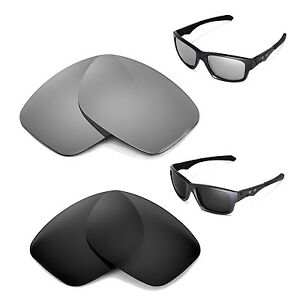 3059bf5206 New WL Polarized Titanium + Black Lenses For Oakley Jupiter Squared ...