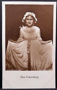 Else-Eckersberg-Ak-Photo-Postcard-Photo-Postcard-Lot-MA1817