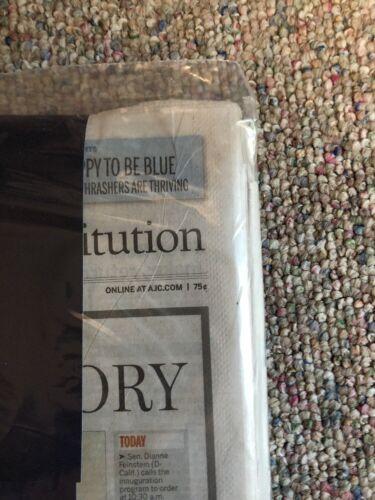 Atlanta Journal President Obama Inauguration Newspaper Limited Edition RARE