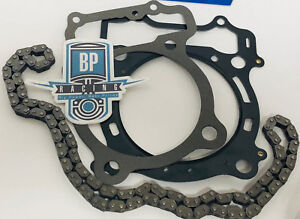 YFZ450 YFZ 450 After Market OEM Cam Timing Chain Head Top End Gaskets Kit Set