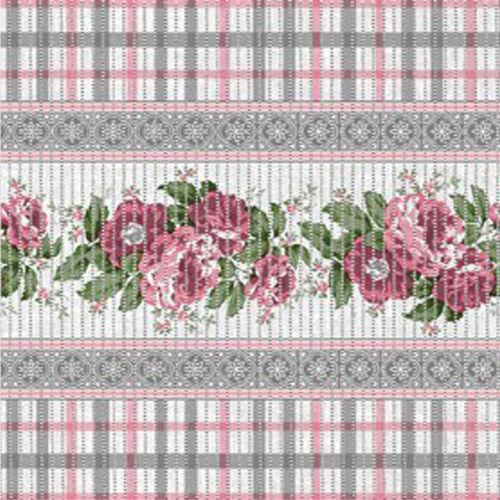 Weichschaummatte Badvorleger Bodenbelag Weichschaumbelag Meterware Rose Blumen