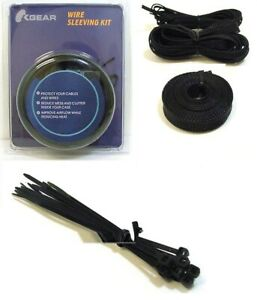 Braided Sleeving Heat Shrink Tubing Tube Ties Cable Wire Harness Sheathing  Kit | eBayeBay