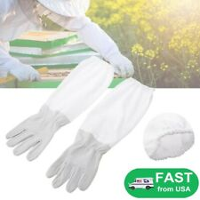 Goatskin Bee Beekeeper Gloves Protective Gloves Beekeeping Supplies Long Sleeves
