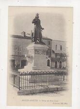 Aigues Mortes Statue de Saint Louis France Vintage U/B Postcard 548b