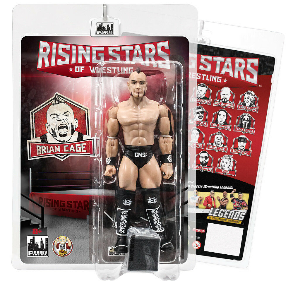 Rising Stars of Wrestling Action Figures Series  Brian Cage
