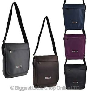 ea7ea72868 NEW Mens Ladies Hard Wearing NYLON Cross Body BAG by Lorenz Travel ...
