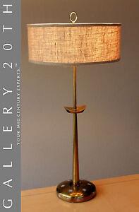 VERY-RARE-MID-CENTURY-MODERN-BRASS-STIFFEL-LAMP-ATOMIC-SPUTNIK-VTG-50-039-S-RETRO