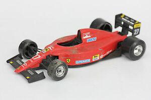 Burago De Coche Carreras Antiguo Ferrari Juguete 6412 124 3RAj54L