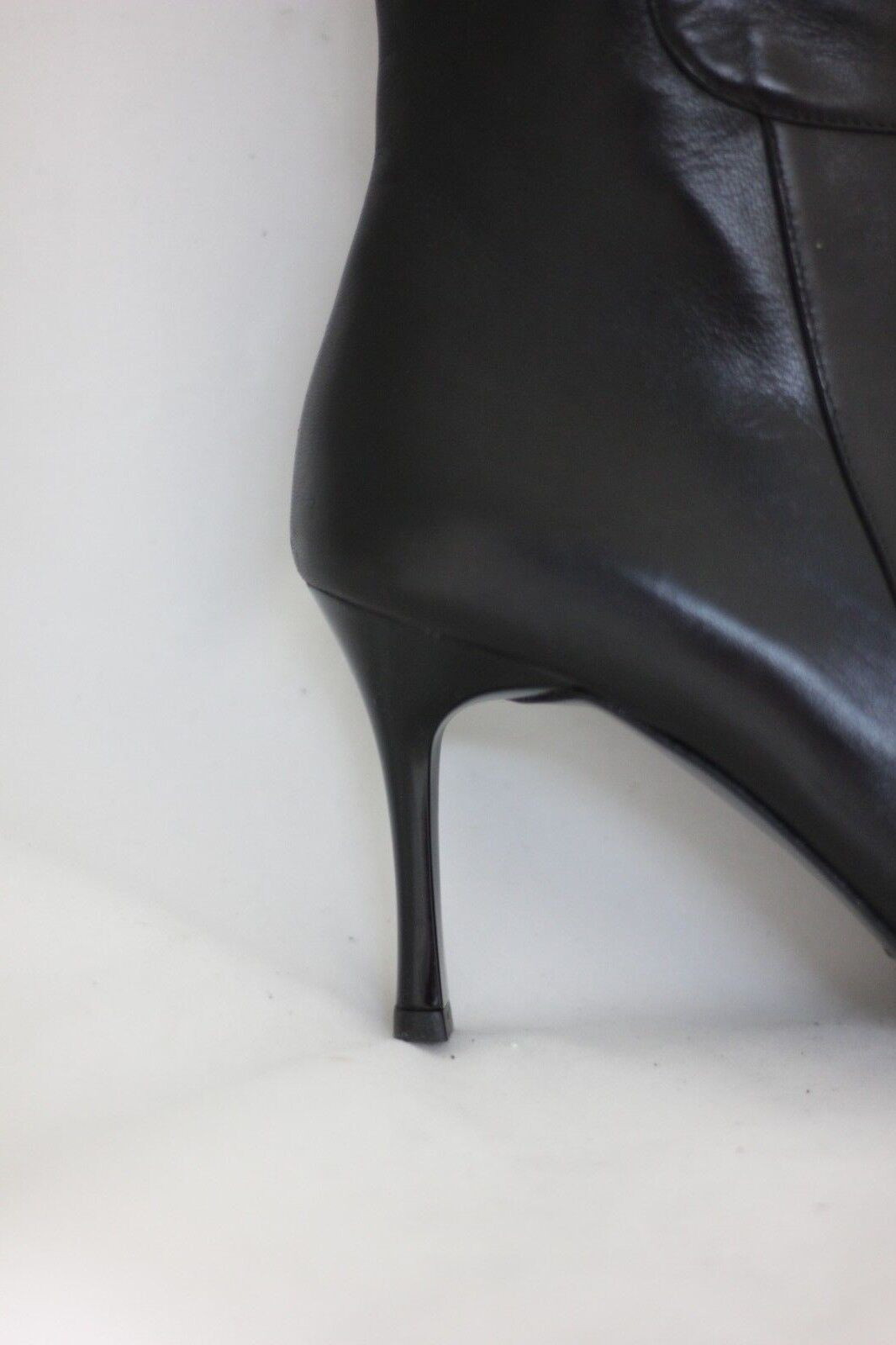 VALLEVERDE stivale donna pelle nero gomma gomma nero tacco punta 36 sconto saldi 3e0331