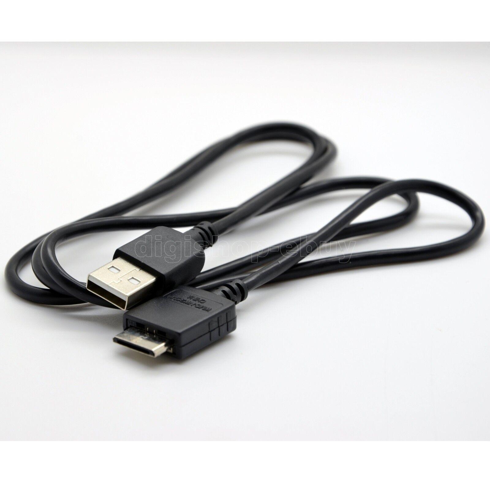Cable de datos USB cable de carga para Sony NWZ-S618/F NWZ-S636/F NWZ-S638/F NWZ-S639/F