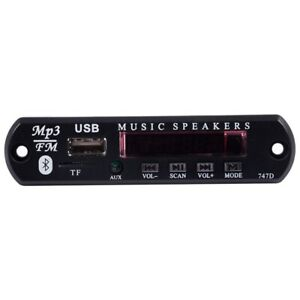 Bluetooth-Sans-Fil-Telecommande-Mp3-WMA-Decoder-Board-Audio-Module-USB-TF-Radio-DC12V