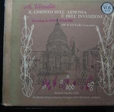 Reinhardt - Vivaldi Cimento Dell' Armonia E Dell' Invenzione 3 LP VG+ 1st Mono
