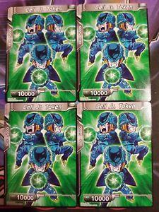 Cell Jr Token 4x Dbs Be03 Dragon Ball Super Ebay