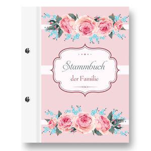 Stammbuch Family A4 rose Familienstammbuch Stammbuch der Familie Dokumente