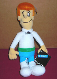 WARNER-BROTHERS-STUDIO-STORE-HANNA-BARBERA-JETSONS-GEORGE-8-034-PLUSH-BEAN-BAG-TOY