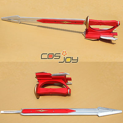 "Cosjoy 43"" Red Ranger Dragon Sword PVC Cosplay Prop-1068"