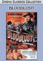 BLOODLUST ('61) - DVD - Region Free - Sealed