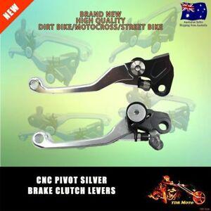 Pivot-CNC-Levers-For-Kawasaki-KX65-KX85-KX125-KX250-KX250F-Suzuki-RMZ250-RMZ450