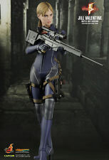 HOT TOYS 1/6 RESIDENT EVIL 5 BIOHAZARD VGM13 JILL VALENTINE BATTLE SUIT FIGURE