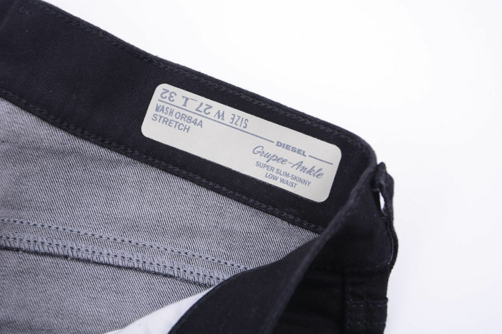 DIESEL DIESEL DIESEL GRUPEE ANKLE OR84A W27 - W31 L32 damen Denim Jeans Super Slim Skinny b68754