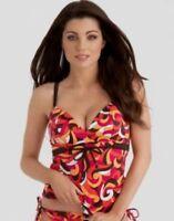 Freya Tropicana Swimwear Tankini Top United Kingdom Size 36d