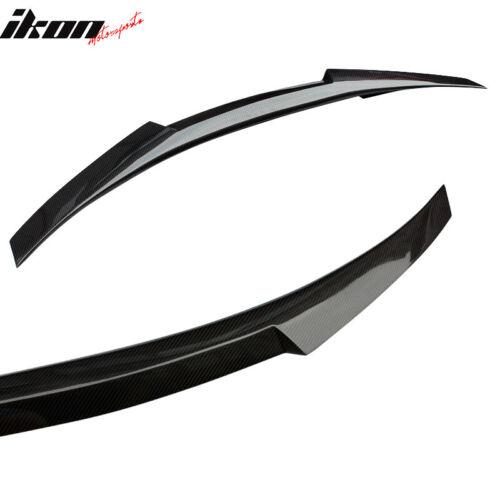 Matte Carbon Fiber Fits 14-20 BMW 2-Series F22 M4 Style Trunk Spoiler Lip Wing