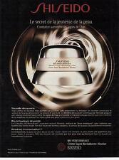 ▬► PUBLICITE ADVERTISING AD  Produits de Beauté crème SHISHEIDO