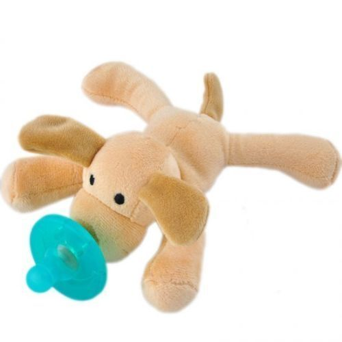 Toddler Infant Baby Soothie Boy Girl Kids Silicone Pacifiers Cuddly Plush Animal