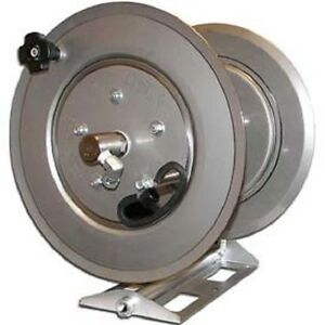 NEW! Stainless Steel Pressure Washer Hose Reel 5000 psi 250' Capacity ...