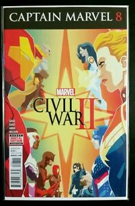 CAPTAIN-MARVEL-8-MARVEL-Comics-NM-Comic-Book