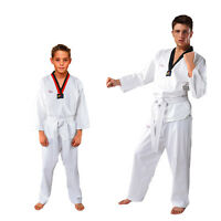 100% Cotton Tae Kwon Do Uniform Children Adult Long-sleeve Taekwondo Clothing