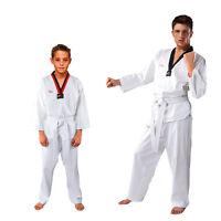 100% Cotton Tae Kwon Do Uniform Children Adult Long-sleeve Taekwondo Clothing